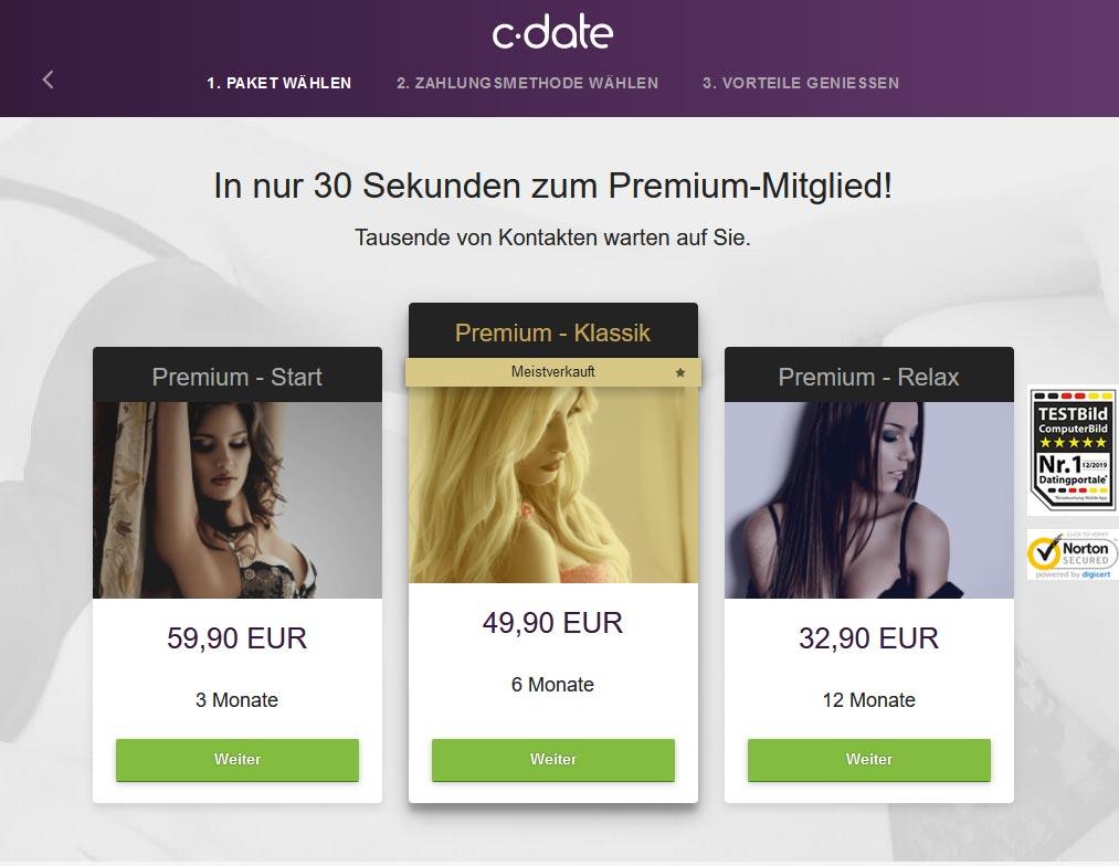 C-Date Kosten