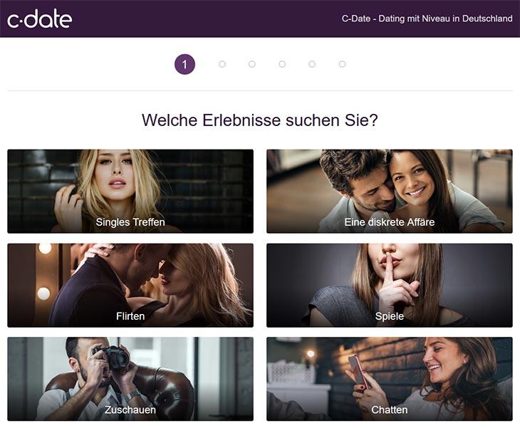 C-Date Partnersuche
