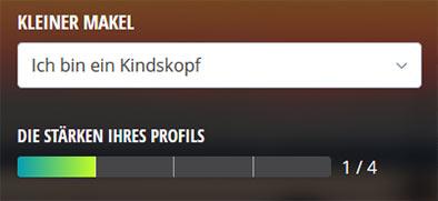 Lovescout22 Profilstaerke